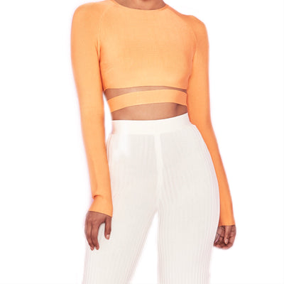 Bonita Bandage Long Sleeve Top