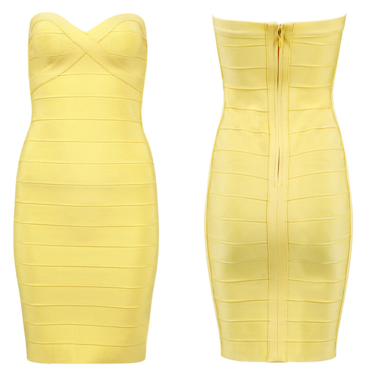 Bonita Bandage Strapless Dress