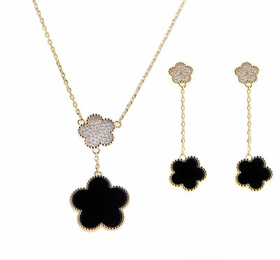 Bonita Jewels Gold CZ Set