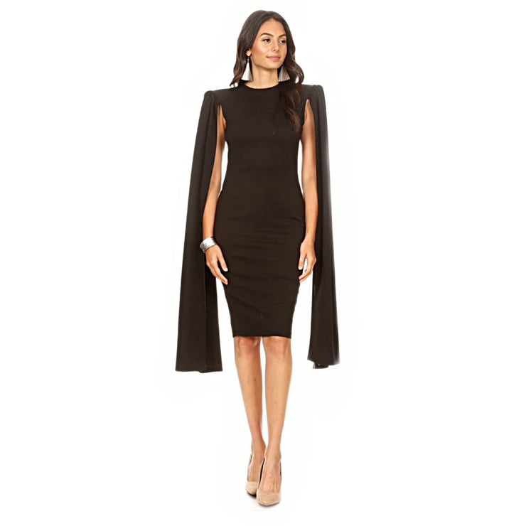 Bonita Casual By Karen T Designs Open Sleeve Dress