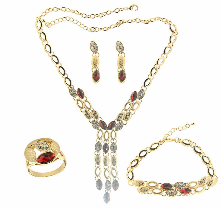 Bonita Jewels 18K-Gold Plated Set