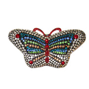 Bonita Jewels Couture Crystal Butterfly Clutch