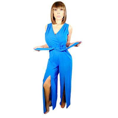 Bonita's Closet Long Jumpsuit Open Front