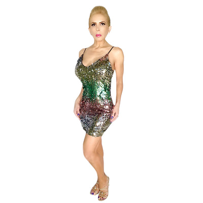 Bonita's Closet Mini Sparkle Dress