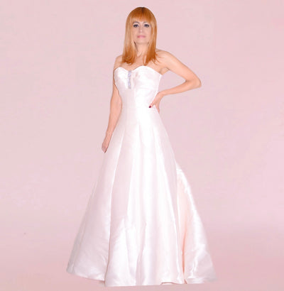 Bonita Bridal - Strapless Light Rose Color