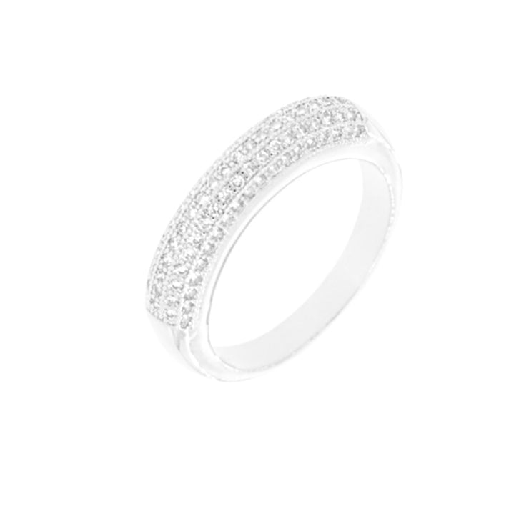 Bonita Jewels Rhodium Plated Ring