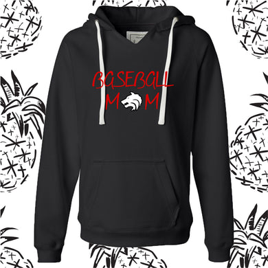 Indian Creek Baseball Mom Hooded Sweatshirt
