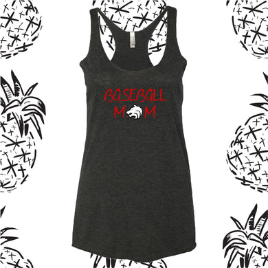 Indian Creek Baseball Mom Racerback Tank