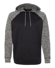 Load image into Gallery viewer, Yorkville Foxes Knockout Two Toned Hooded Sweatshirt