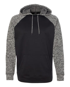 Yorkville Foxes Knockout Two Toned Hooded Sweatshirt