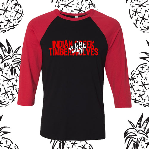 Indian Creek Mascot Knockout Raglan Tee