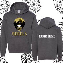 Load image into Gallery viewer, KC Rebels Customized Hooded Sweatshirt
