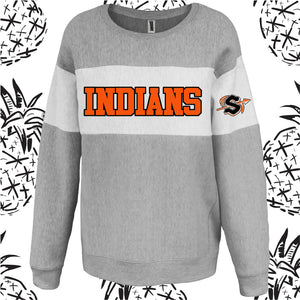 Sandwich Indians Women's Fit Varsity Crew
