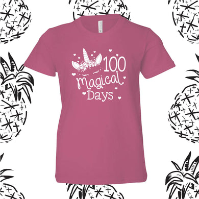 100 Days Unicorn Tee