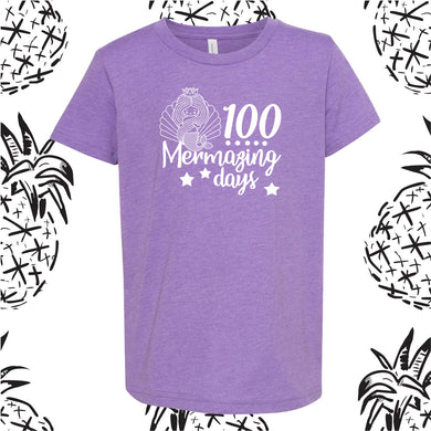 100 Days Mermaid Tee