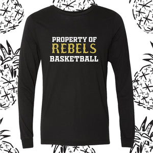 KC Rebels Property of Long Sleeve Tee