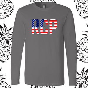 RCP Flag Long Sleeve Tee