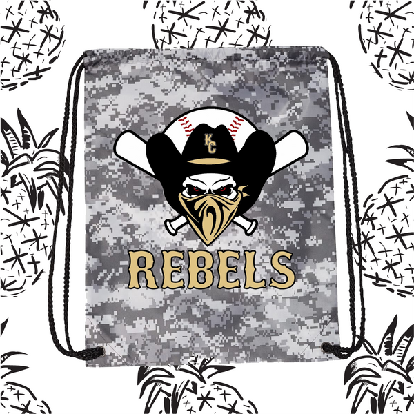 KC Rebels Cinch Sack