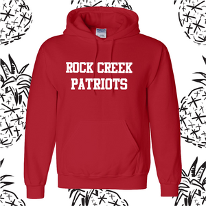 Rock Creek Patriots Poly/Cotton Hooded Sweatshirt