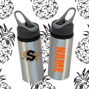 Sandwich Indians Logo Water Bottle