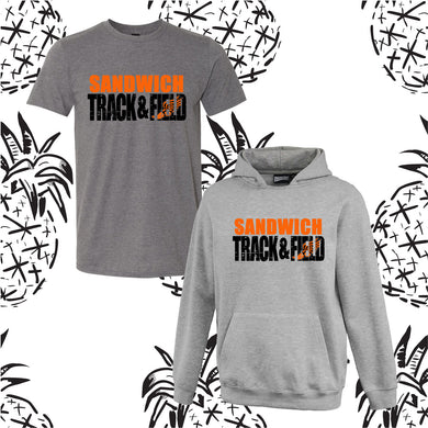 Sandwich Track Knock Out Hooded Sweatshirt/Tee