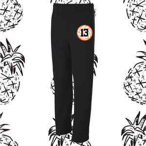 Indians Volleyball Open Bottom Sweatpants