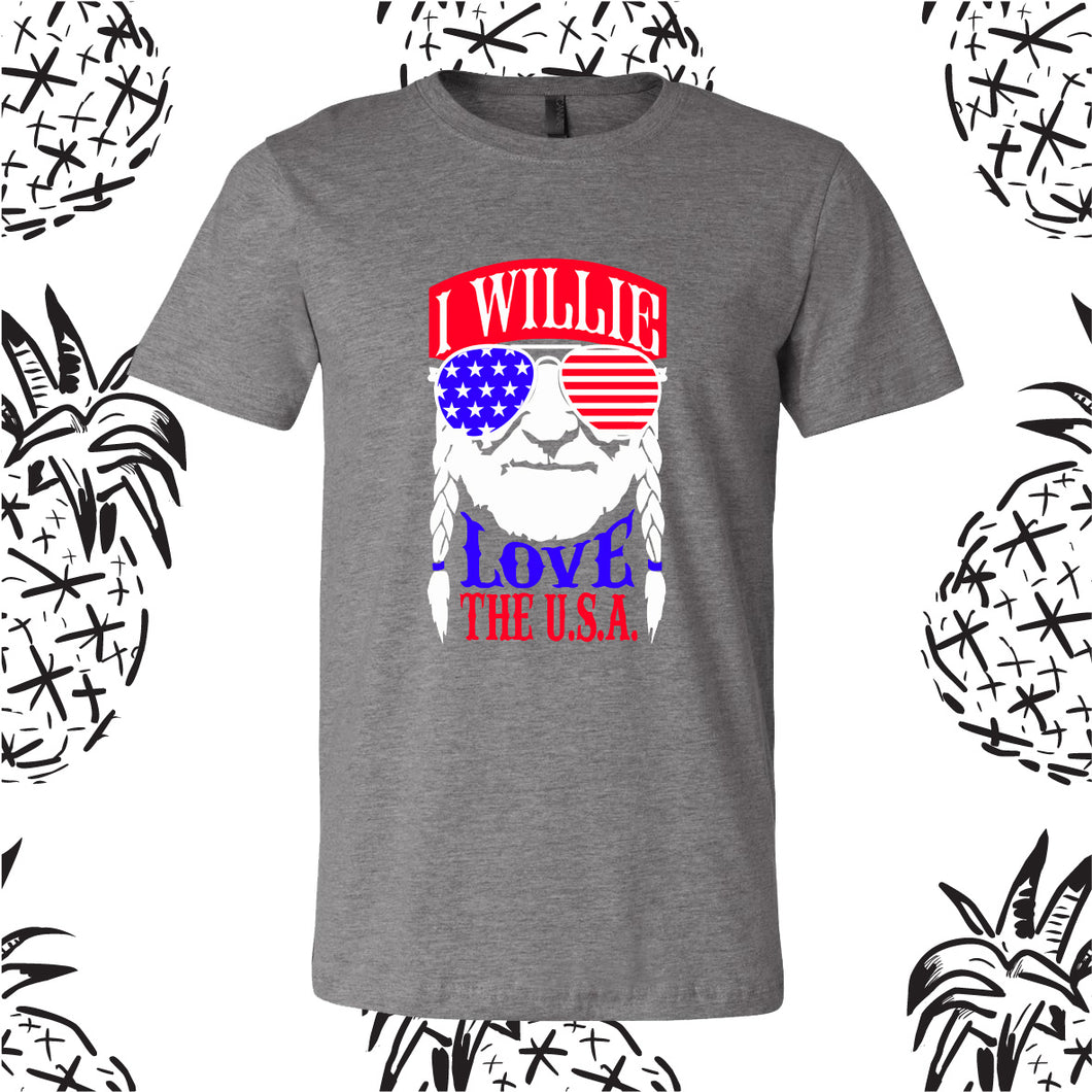 Willie 4th of July Tee
