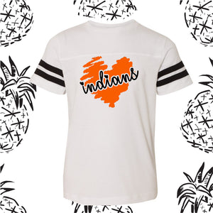 Youth Indians Scribble Jersey Tee