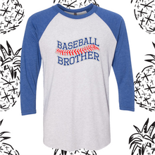Load image into Gallery viewer, Rock Creek Baseball Sibling Raglan Tee