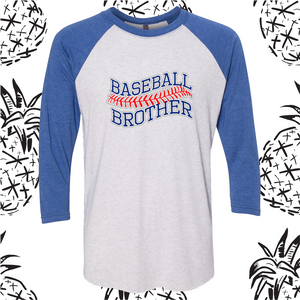 Rock Creek Baseball Sibling Raglan Tee