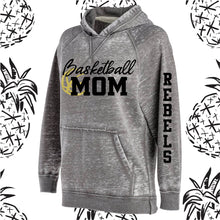 Load image into Gallery viewer, KC Rebel Sports Mom Acid Wash Hooded Sweatshirt