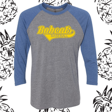 Load image into Gallery viewer, Somonauk Script Baseball Tee