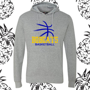 Bobcats Basketball Hooded Sweatshirt