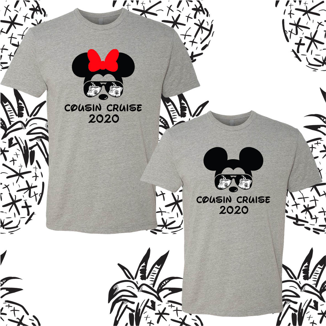 Disney Inspired Cousin Cruise 2020 Tee