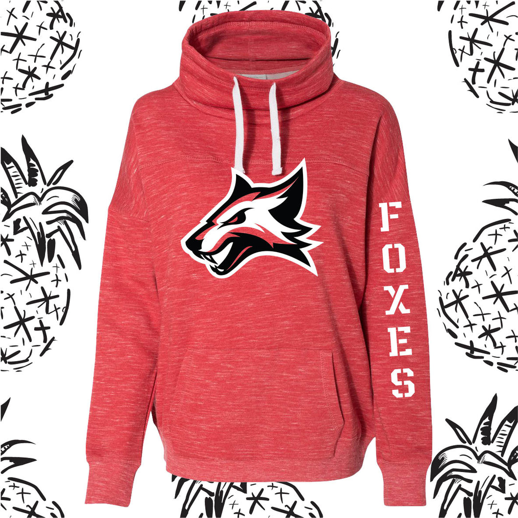 Yorkville Foxes Cowl Neck Sweatshirt