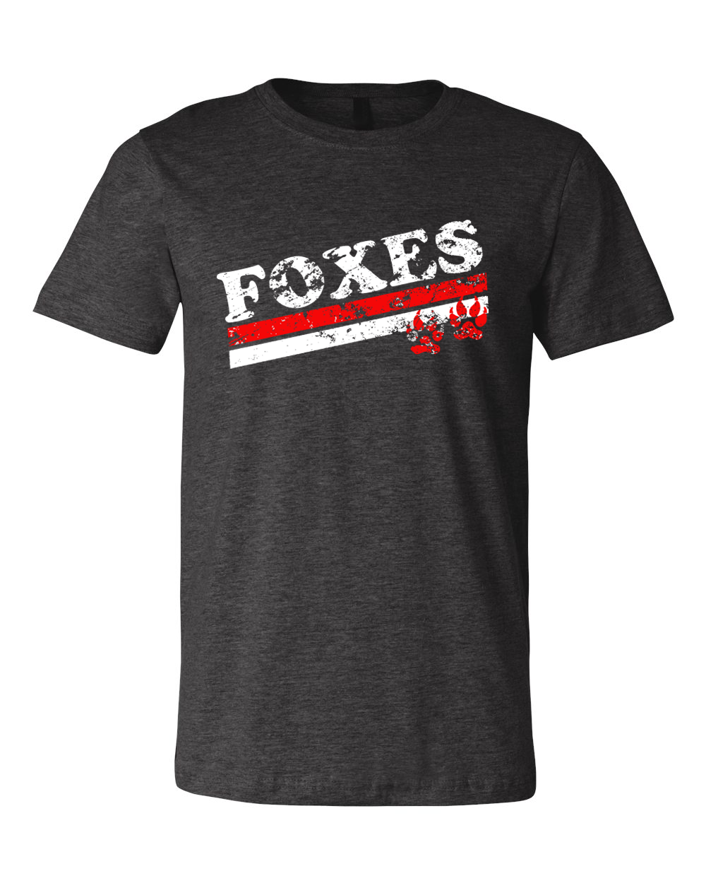 Distressed Yorkville Foxes Tee