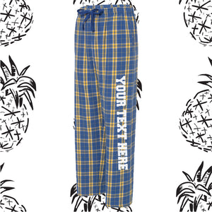 Blue & Yellow Pajama Pants