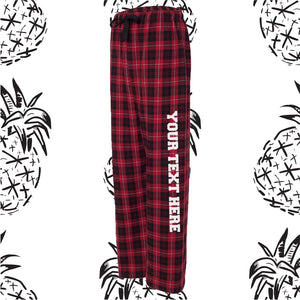 Red & Black Pajama Pants
