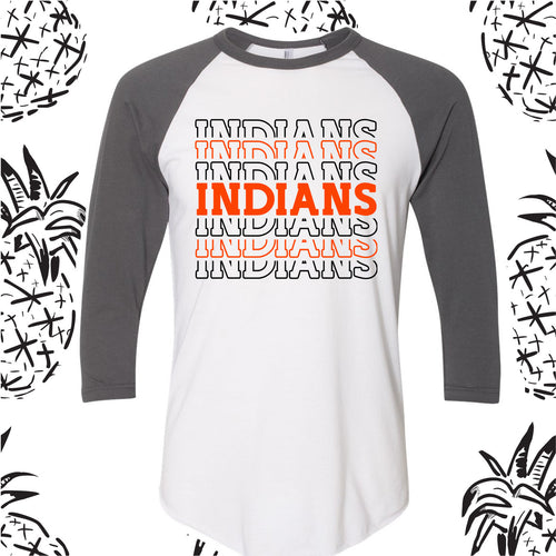 Indian Spirit Raglan Tee