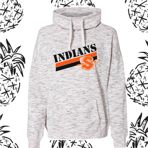 Sandwich Indians Cowl Neck Sweatshirt