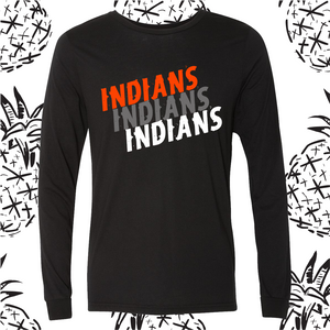 Indian School Spirit Long Sleeve Tee