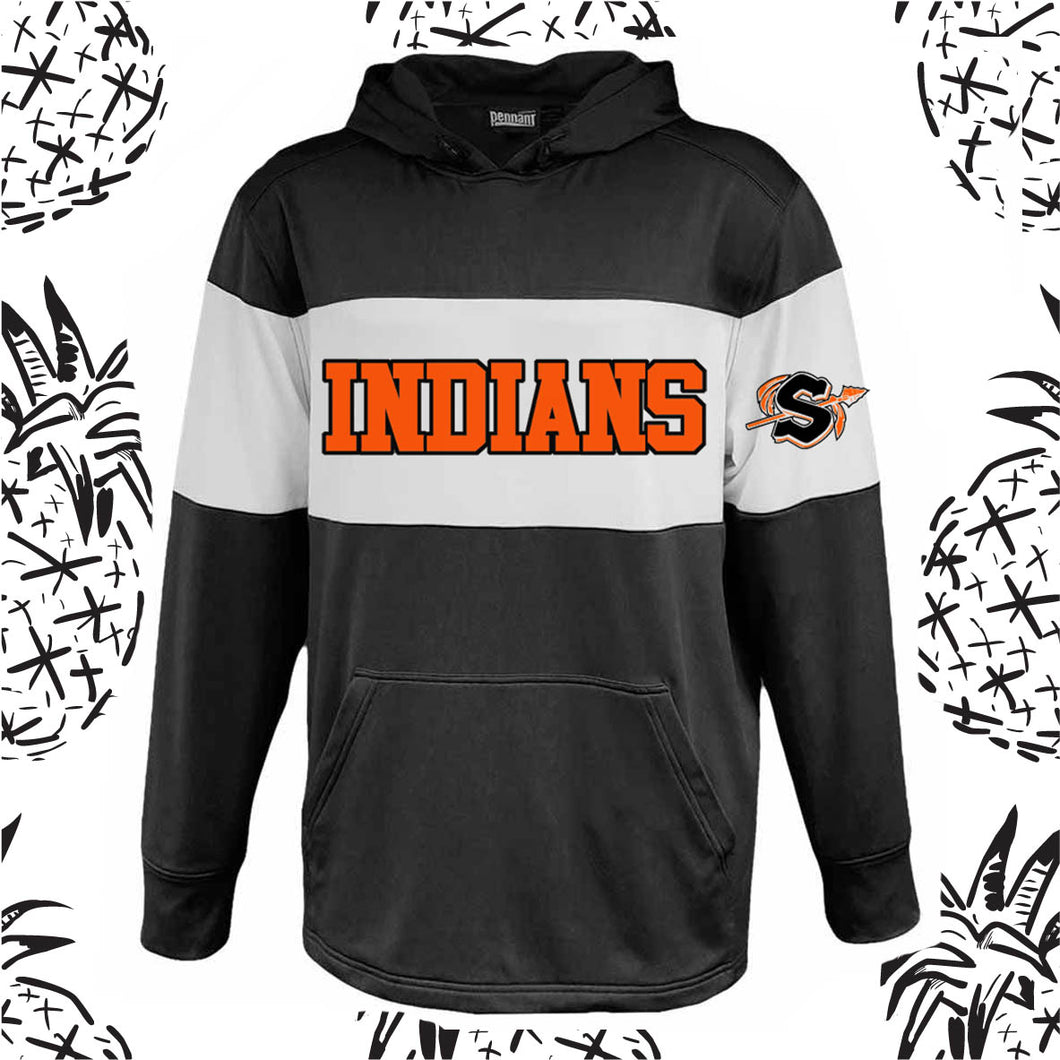 Sandwich Indians Varsity Hooded Sweatshirt