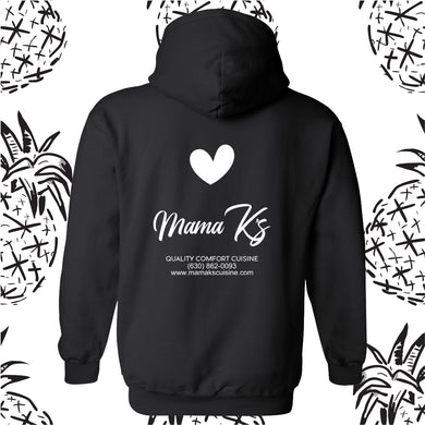 Mama K's Logo Hooded Sweatshirt