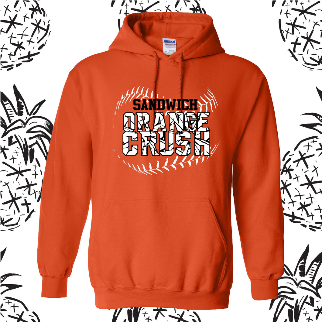 Orange Crush Logo Hooded Sweatshirt