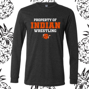 Property of Indian Wrestling Long Sleeve  Tee