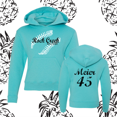Rock Creek Stitch Neon Hooded Sweatshirt
