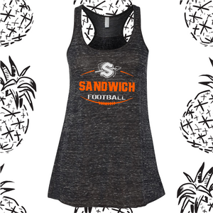Sandwich Football Racerback Tank Top