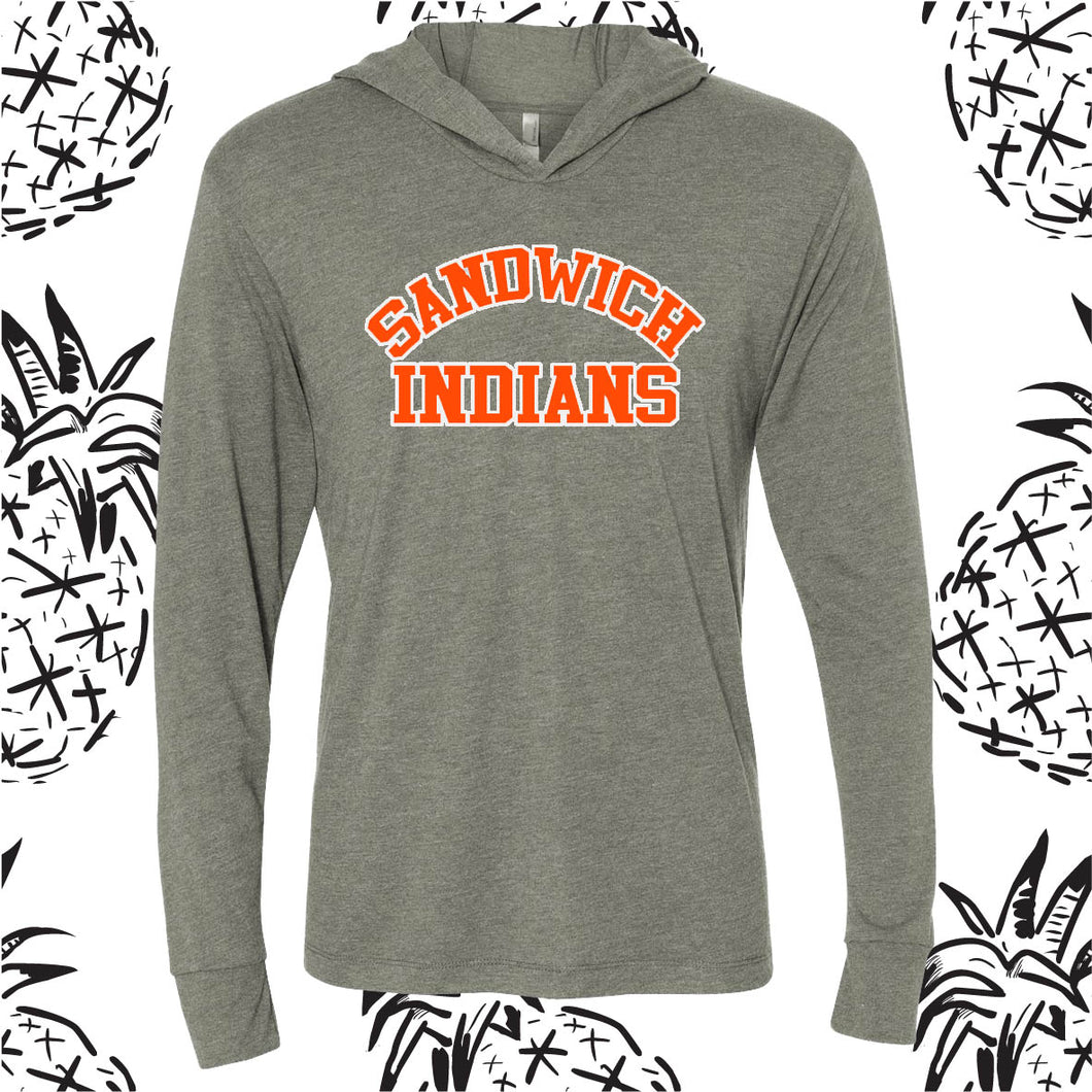 Sandwich Indians Hooded Tee