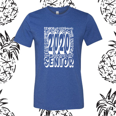Senior 2020 Graffiti Tee