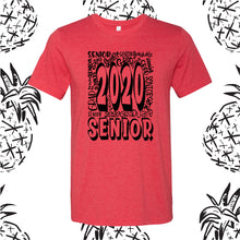Load image into Gallery viewer, Senior 2020 Graffiti Tee